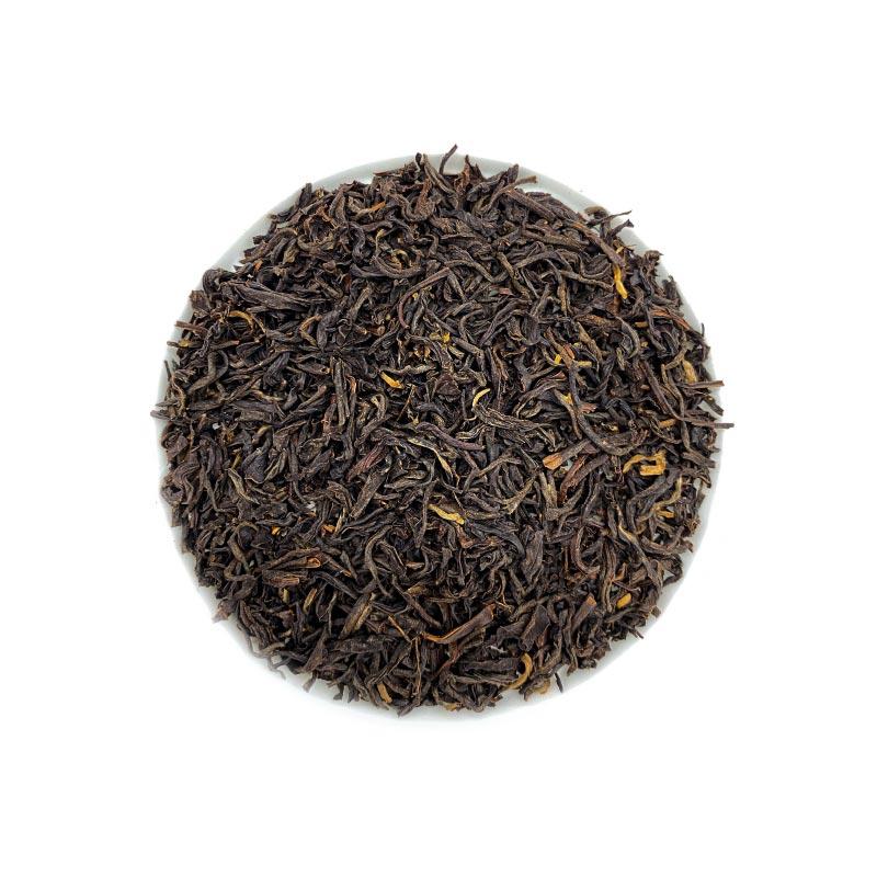 Schwarzer Tee Assam Blatt