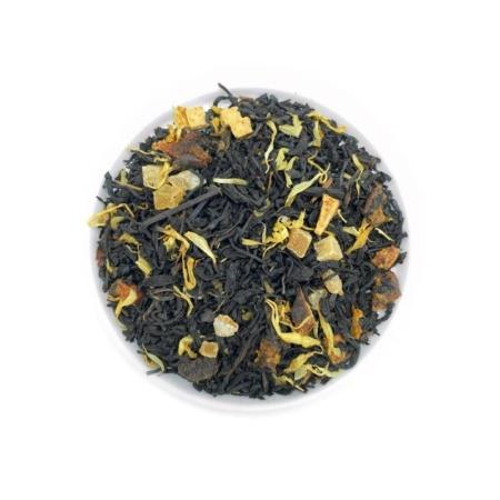 Schwarzer Tee Birne-Karamell