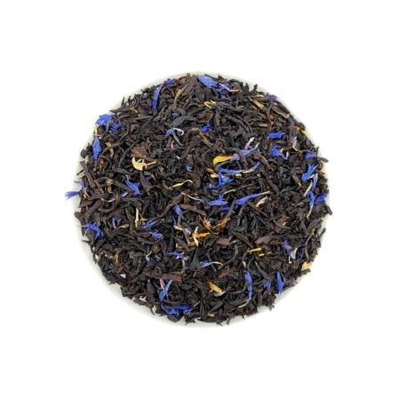 Schwarzer Tee Nizza Sahne