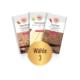 Schokolade Probierpaket mit 3 Tafeln nach Wahl