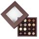 Ulli´s handgemachte Pralinen, 16 Stück in einer dunkelbraunen Schachtel